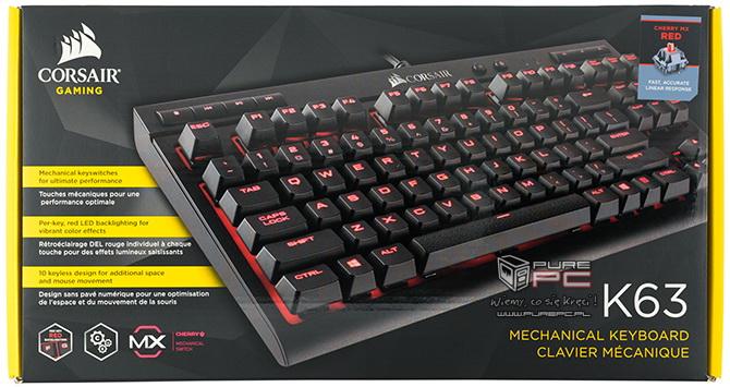 Corsair K63 test klawiatury mechanicznej za nieduże pieniądz [nc1]