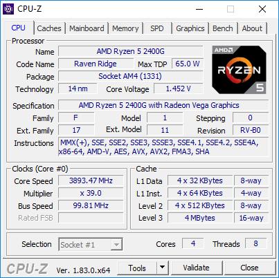 Test AMD Ryzen 5 2400G Raven Ridge - Zen i Vega w jednym