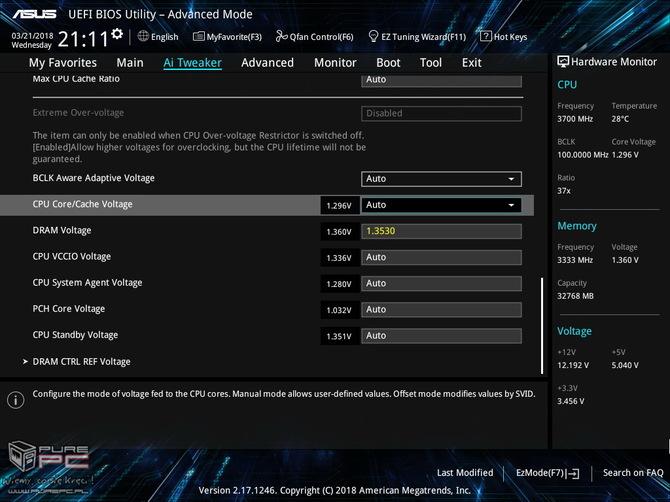 Test ASUS Prime Z370-A - Tańsza wersja Strix Z370-F Gaming [12]