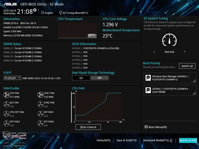 Test ASUS Prime Z370-A - Tańsza wersja Strix Z370-F Gaming [9]