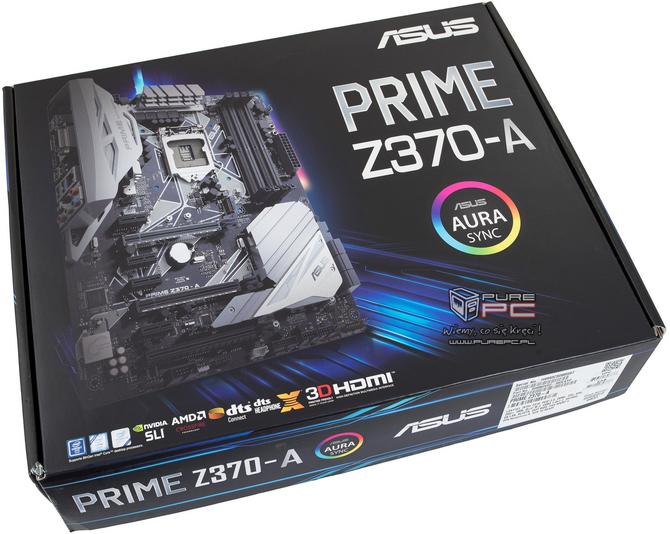 Test ASUS Prime Z370-A - Tańsza wersja Strix Z370-F Gaming [nc1]