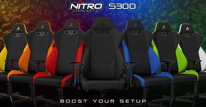 Test fotela Nitro Concepts S300 - Czy gaming może być tani? [2]