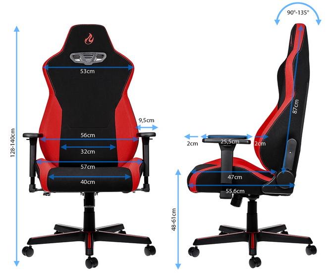 Test fotela Nitro Concepts S300 - Czy gaming może być tani? [nc3]
