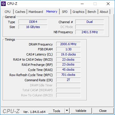 Test pamięci DDR4 Corsair Vengeance PRO RGB 4000 MHz CL19 [2]