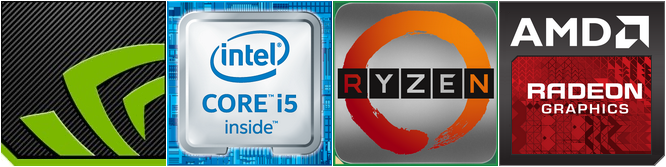 Ryzen 5 2600, Core i5-8400, GeForce GTX 1060 i Radeon RX 580 [1]