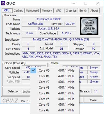 Test procesora Intel Core i9-9900K - Bezkompromisowa