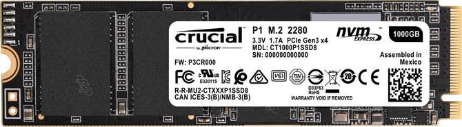 Test dysku SSD Crucial P1 - Pamięci QLC NAND wchodzą na rynek [nc1]