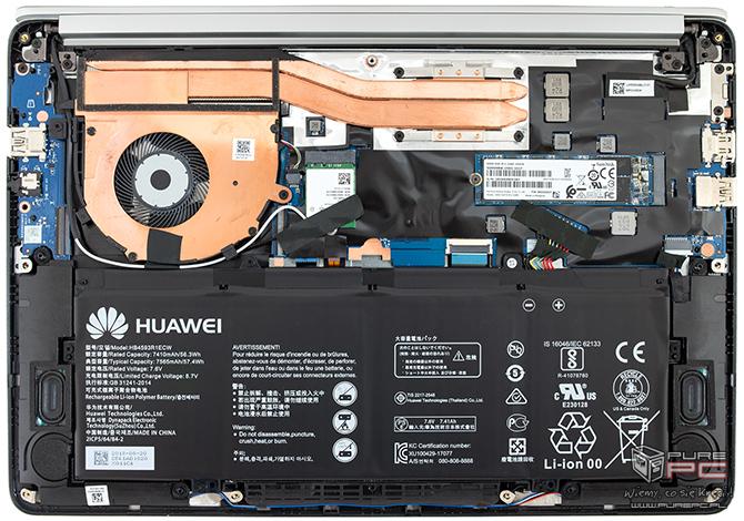 Test Huawei Matebook D14 - AMD Ryzen Mobile w atrakcyjnej cenie [nc5]