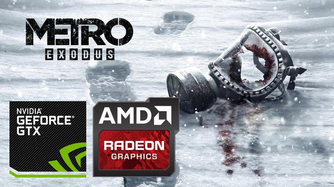 Metro Exodus - Test wydajności kart graficznych. Totalna masakra! [nc2]