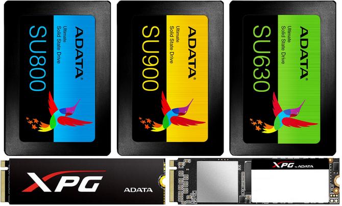 Przegląd dysków SSD ADATA 480-512 GB - SATA i M.2 PCI-E [1]
