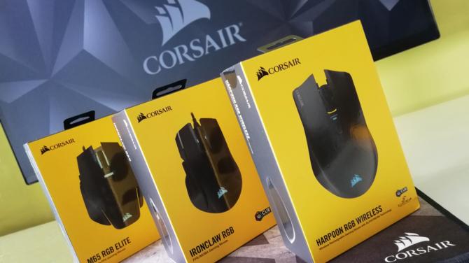 Test myszy Corsair Harpoon RGB, Ironclaw RGB i M65 RGB Elite [5]
