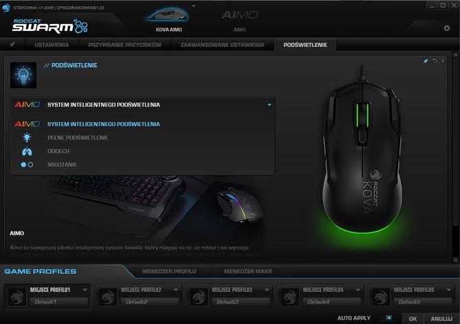 Test Roccat Kova AIMO - Mysz pod ostrzałem przycisków [5]