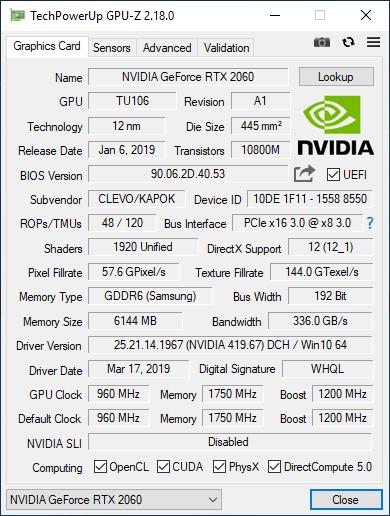 Test Dream Machines RG2060 - RTX 2060 w atrakcyjnej cenie [47]