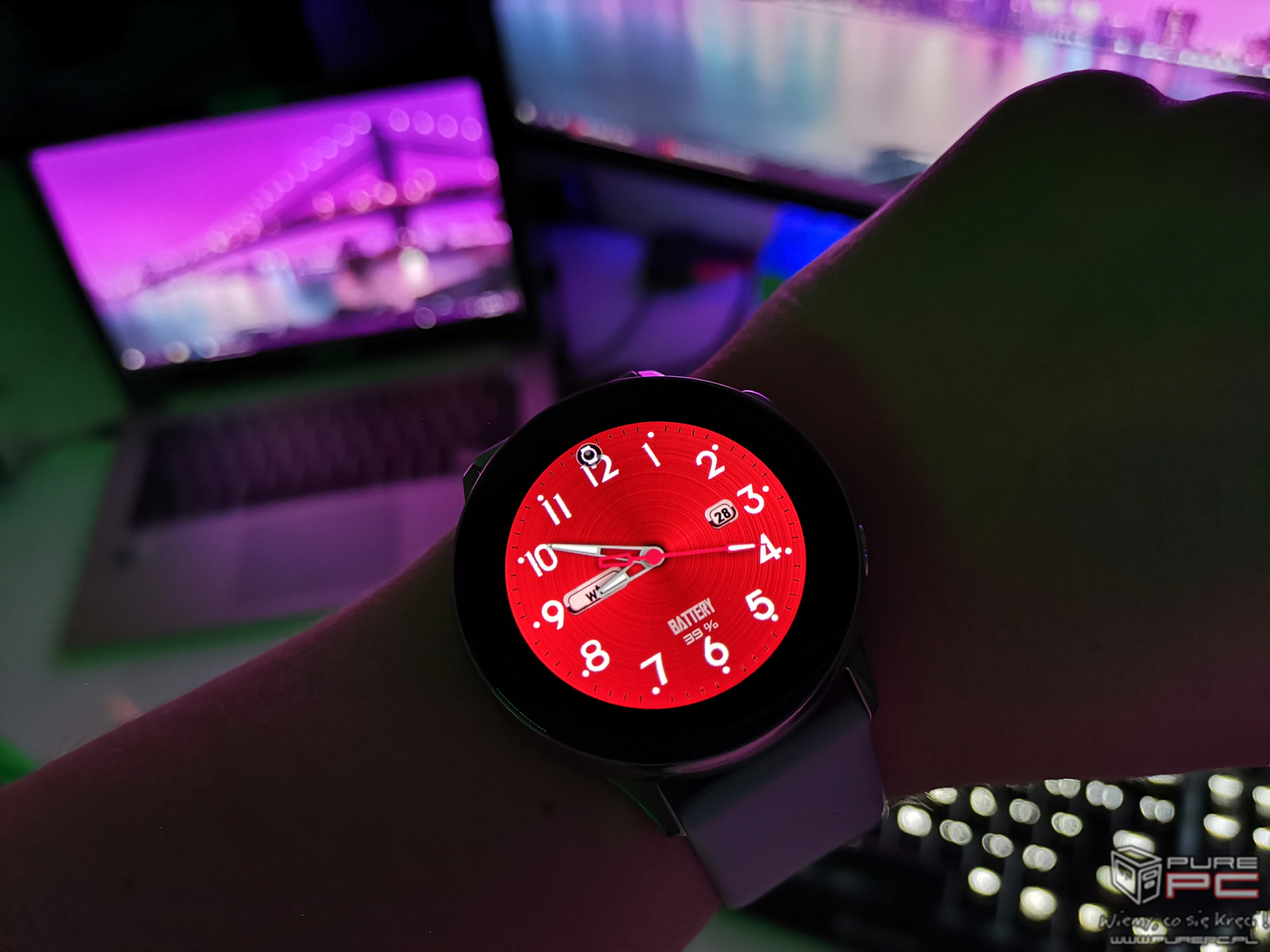 test smartwatcha samsung galaxy watch active czas na sport. Black Bedroom Furniture Sets. Home Design Ideas