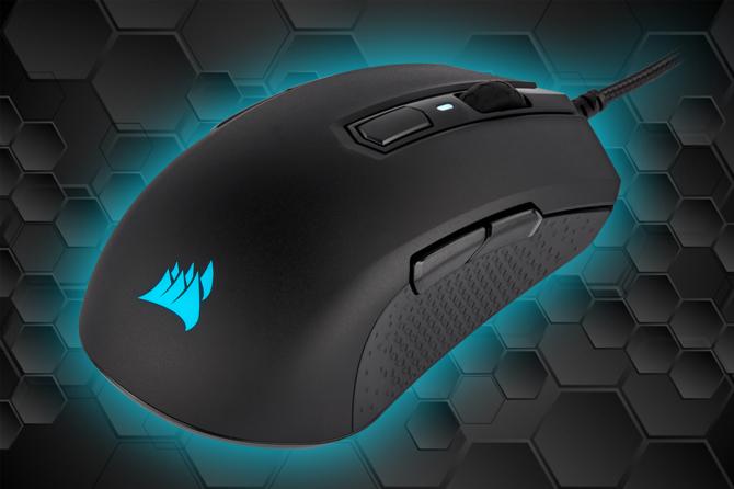 Test myszy Corsair M55 RGB PRO - dość klasycznie, ale i gamingowo [1]