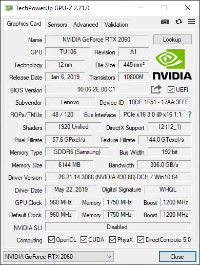 Test Lenovo Legion Y740 - atrakcyjny notebook z GeForce RTX 2060 [5]