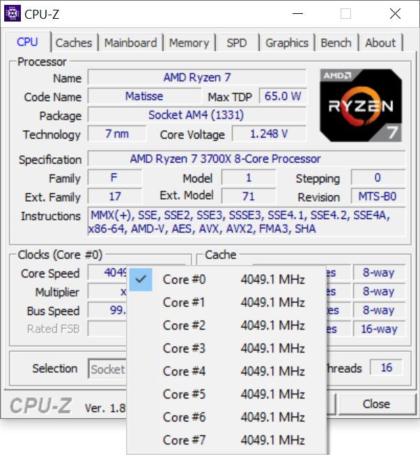 Test procesora AMD Ryzen 7 3700X - Premiera architektury Zen 2 [17]
