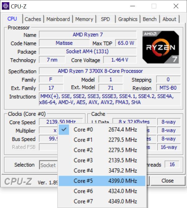 Test procesora AMD Ryzen 7 3700X - Premiera architektury Zen 2 [19]