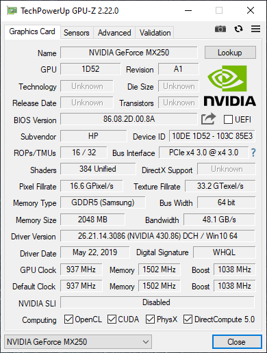 Test HP Envy 13 (2019) - piękny ultrabook z NVIDIA GeForce MX250 [4]