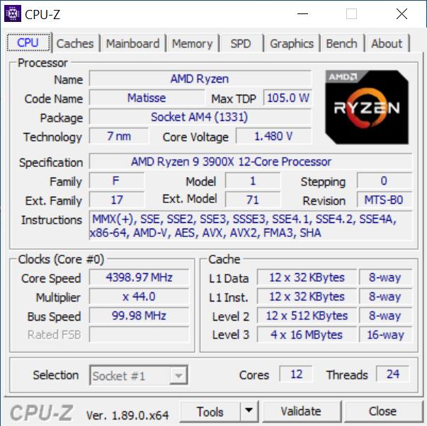 Test procesora AMD Ryzen 9 3900X - Jeszcze wincyj rdzyniuf! [3]