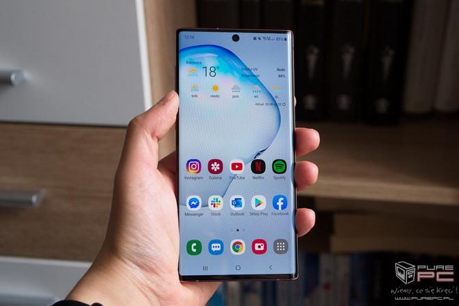Test smartfona Samsung Galaxy Note 10 – Bez ramek, ale z rysikiem [nc1]