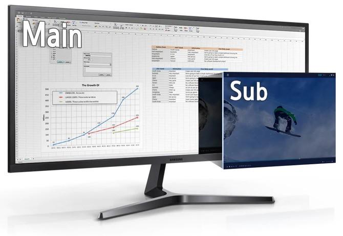 Monitor Samsung LS34J550 - Jak sprawuje się w wielozadaniowości? [11]