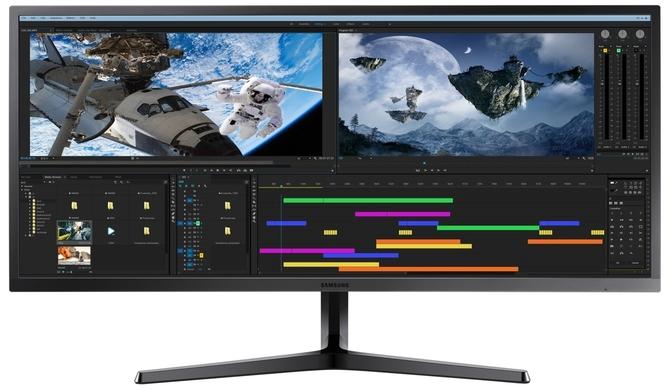 Monitor Samsung LS34J550 - Jak sprawuje się w wielozadaniowości? [3]