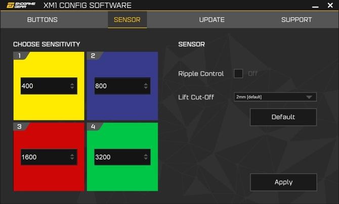 Test myszy Endgame Gear XM1 - Gaming na poważnie. Czy na pewno? [12]