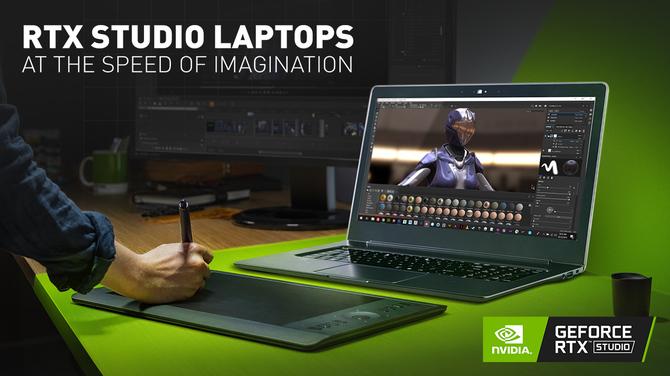 NVIDIA Studio - test wydajności laptopa z kartą NVIDIA Quadro RTX [1]