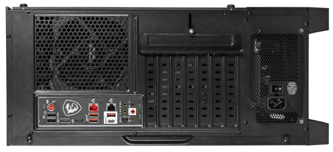 Test obudowy MSI MAG Forge 100M - Lodowy smok z RGB LED? [4]