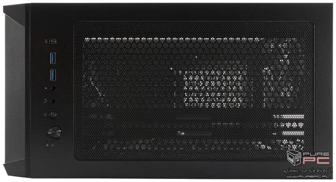 Test obudowy MSI MAG Forge 100M - Lodowy smok z RGB LED? [nc3]