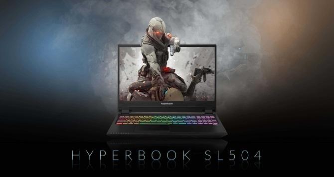 Hyperbook SL504 - Test laptopa z ekranem OLED i kartą RTX 2060 [1]