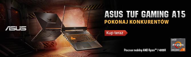 Test ASUS TUF Gaming A15 z procesorem AMD Ryzen 7 4800H [nc11]
