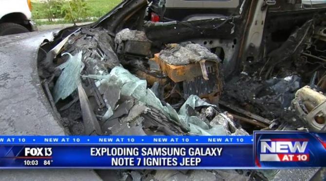 Legenda o wybuchającym smartfonie - Samsung Galaxy Note7 [5]