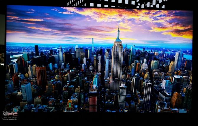 Telewizory na targach CES 2019 - cztery różne podejścia firm [13]