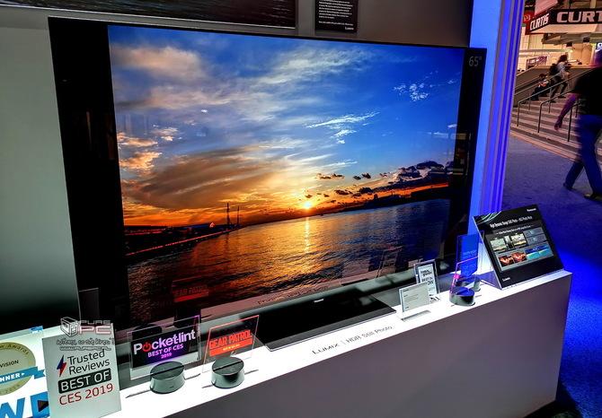Telewizory na targach CES 2019 - cztery różne podejścia firm [14]