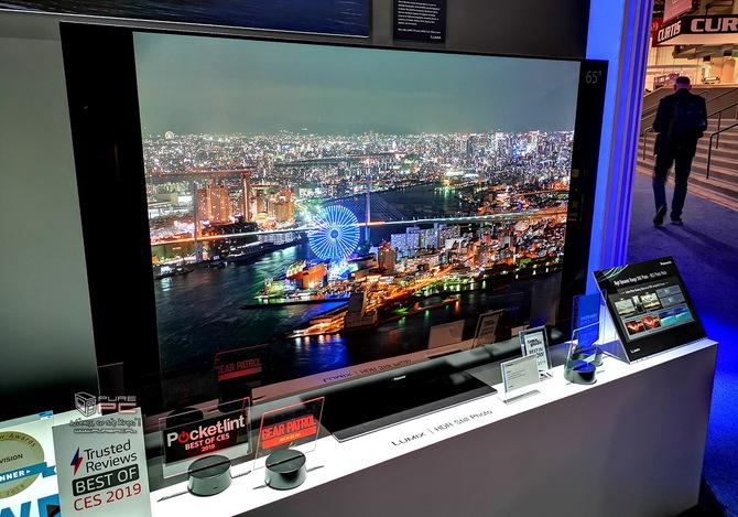 Telewizory na targach CES 2019 - cztery różne podejścia firm [15]