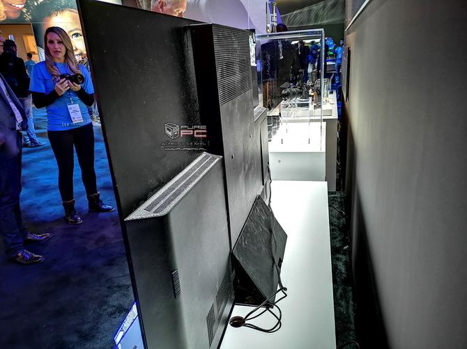 Telewizory na targach CES 2019 - cztery różne podejścia firm [17]