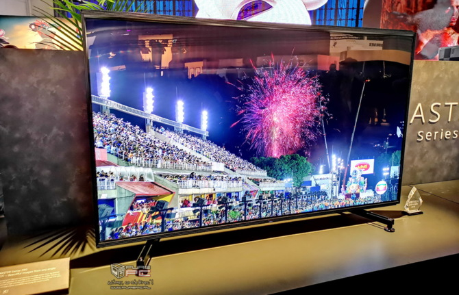 Telewizory na targach CES 2019 - cztery różne podejścia firm [18]