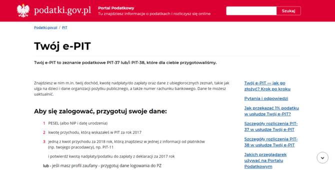 e-PIT - Czyżby polskie urzędy wkroczyły w końcu w XXI wiek? [3]