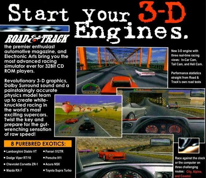 25 lat gry The Need for Speed: Świetne bolidy i niezwykłe pomysły [1]