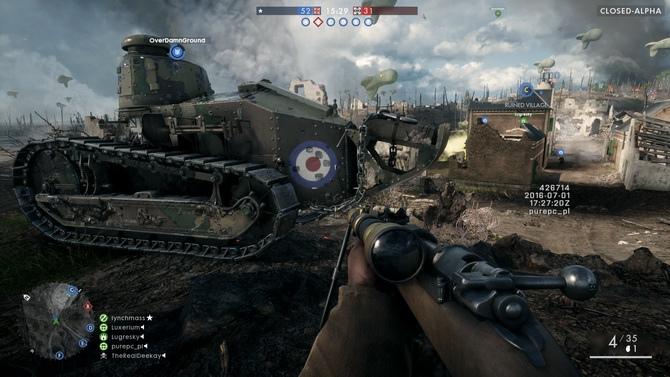 Gramy w Battlefield 1 PC - Zamknięta alfa dobrze rokuje [5]