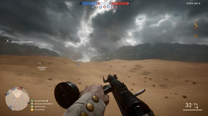 Battlefield 1 -wrażenia z otwartej bety, która dobrze rokuje [3]