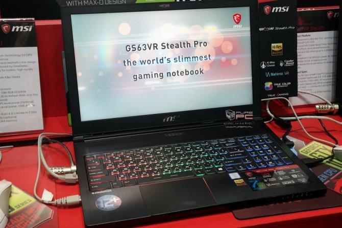 MSI GS63VR i GS73VR pierwsze wrażenia z użytkowania laptopów [2]