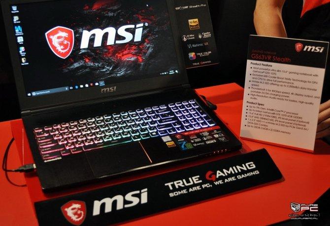 MSI GS63VR i GS73VR pierwsze wrażenia z użytkowania laptopów [6]