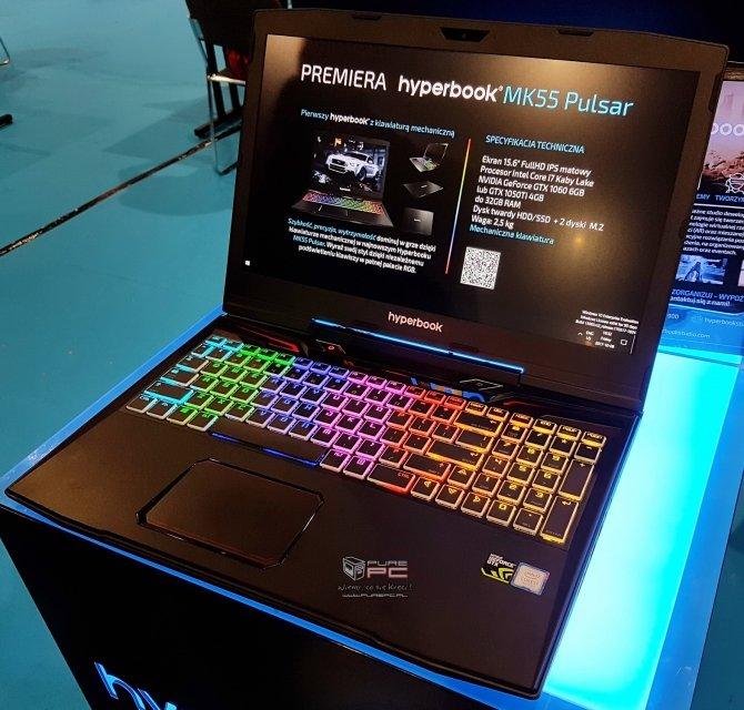Hyperbook MK55 Pulsar - pierwsze wrażenia z użytkowania [1]