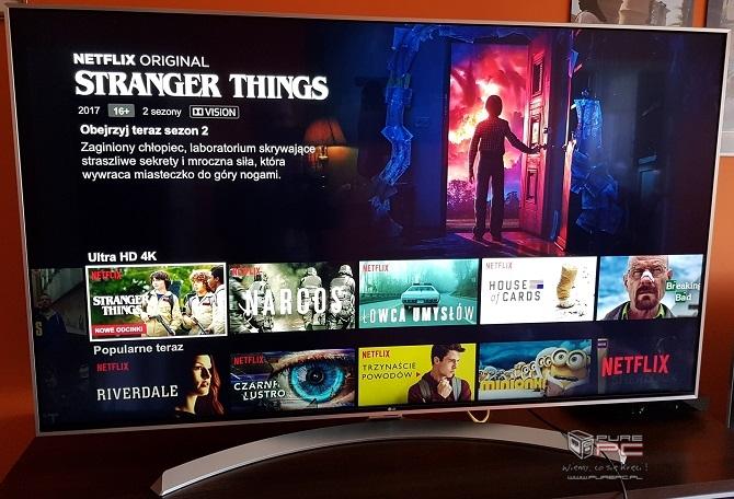 Oglądamy filmy w 4K i Dolby Vision na TV LG Super UHD 55SJ81 [nc1]