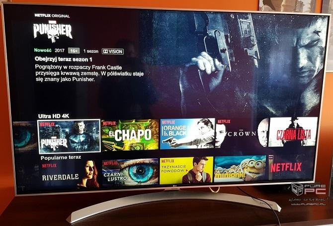 Oglądamy filmy w 4K i Dolby Vision na TV LG Super UHD 55SJ81 [nc3]