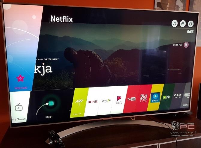 Oglądamy filmy w 4K i Dolby Vision na TV LG Super UHD 55SJ81 [nc4]