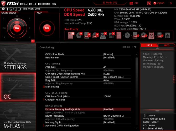 Test pamięci DDR4 Patriot Viper White LED 2400 MHZ CL 14 [8]